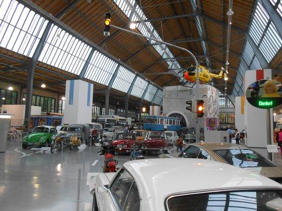 Deutsches Museum Verkehrszentrum: авто