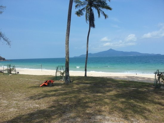 Twin Beach Resort : view from chalet