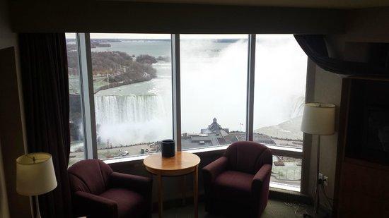 Oakes Hotel Overlooking the Falls: Vista do quarto de dia