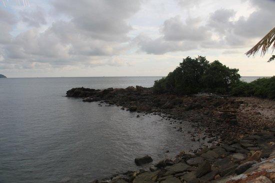 Vivanta by Taj Rebak Island, Langkawi: after sunset on the western edge of the resort.