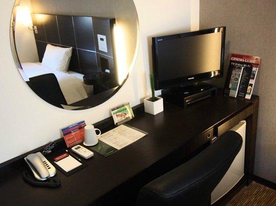 Hotel Active Hiroshima: 書斎