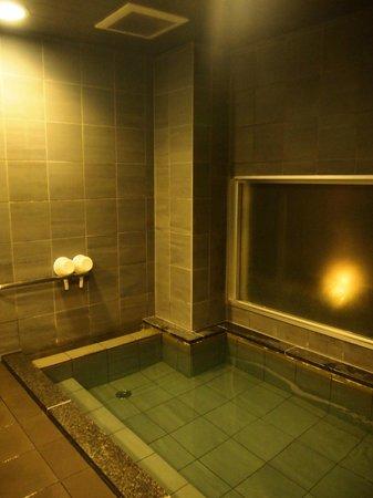Hotel Active Hiroshima: 狭いけど大浴場