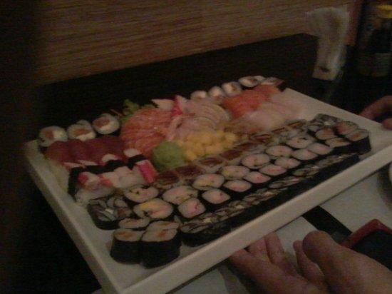 Sushi San: O robalo tava bem duro
