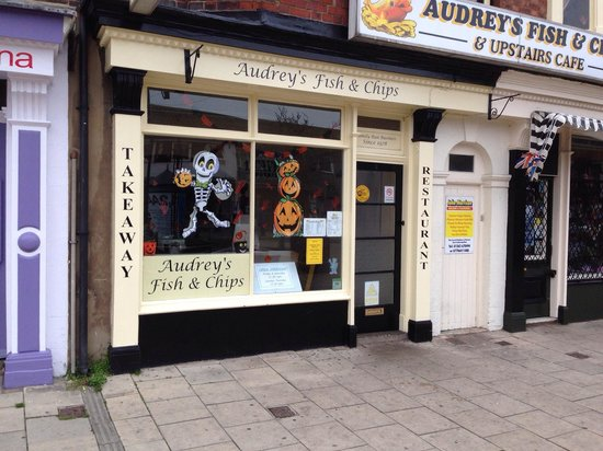 Audrey's Fish & Chips: Halloween at Audrey's