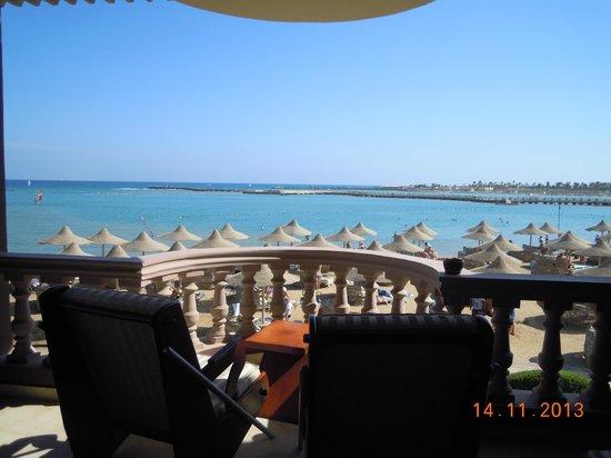 SENTIDO Mamlouk Palace Resort : шикарный вид из номер сьют