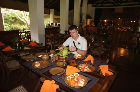 Sigiriya Village Hotel : Завтрак