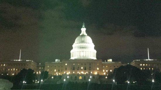 Capitol Hill: Vista de noite