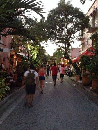 The Clay Hotel : Vista da rua