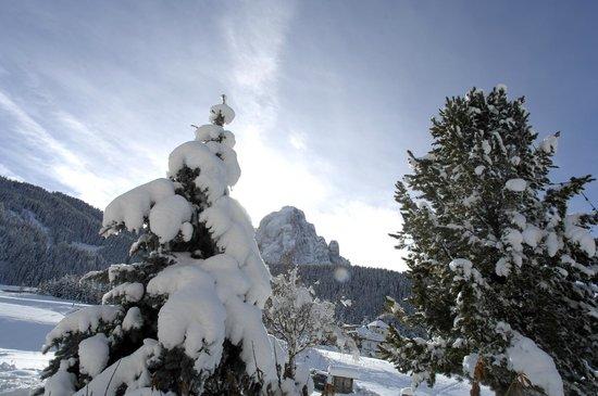 Granvara Relais & Spa Hotel: Winterlandschaft