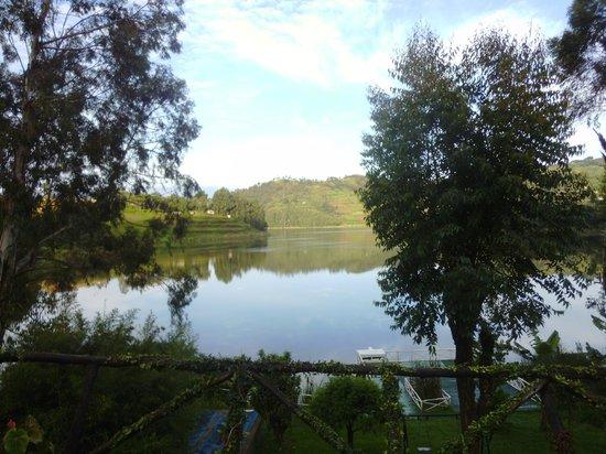 Bunyonyi Safaris Resort : View from our room