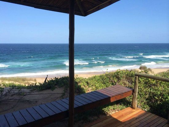 Blue Footprints Eco-Lodge : View from Room