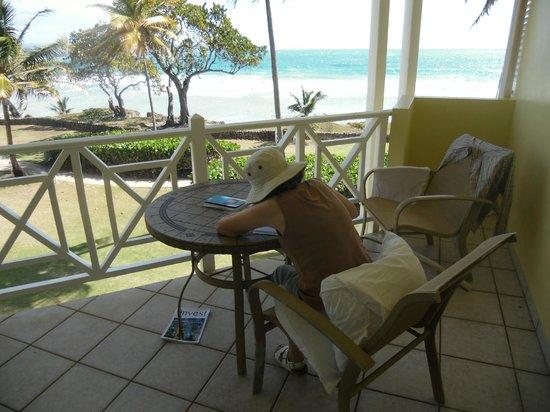 Magdalena Grand Beach & Golf Resort: balcony