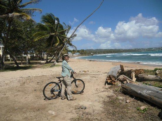 Magdalena Grand Beach & Golf Resort: hotel bicycle ride
