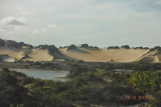 Pirambu beach: Lagoa Azul