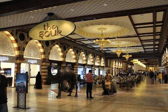 The Dubai Mall : Souk in the Mall