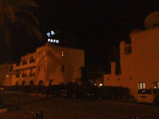 Panareti Paphos Resort: Confusing for local taxi drivers?