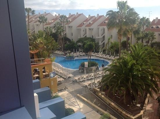 Paradise Park Fun Lifestyle Hotel: view from room 336