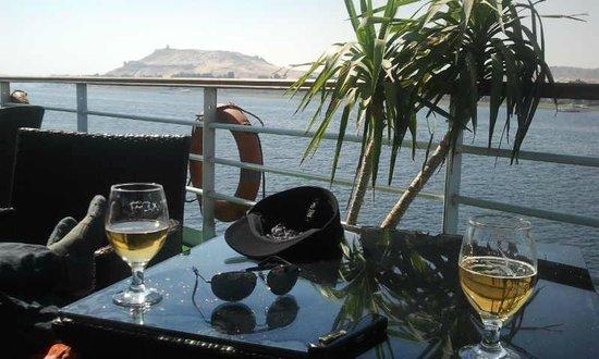 Nile River: Ausblick vom Sonnendeck