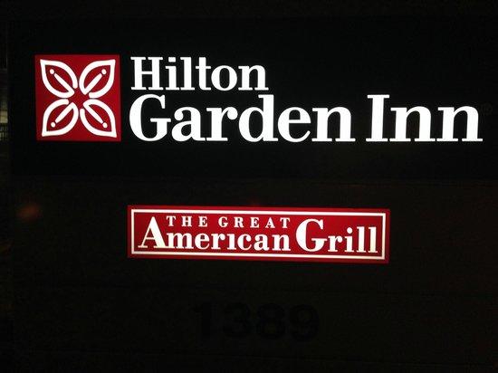 Hilton Garden Inn Albany / SUNY Area: Signage