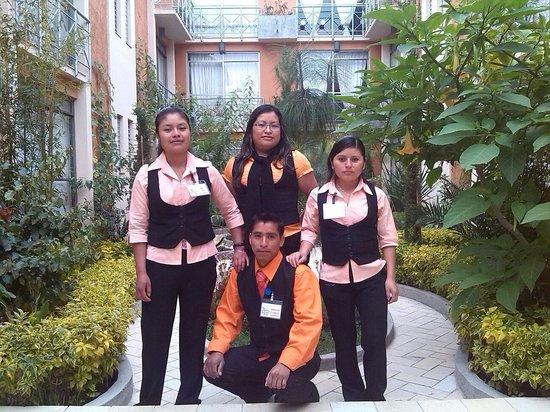 Axkan Arte Hotel : Lo staff meraviglioso dell ' hotel