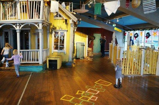 Junibacken: Дом Пеппи Длинный Чулок