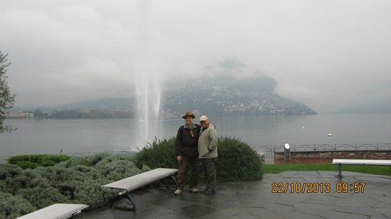 Lake Lugano Suiça