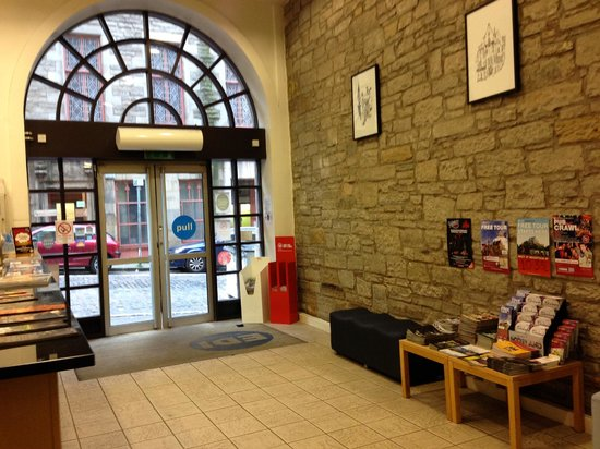 Safestay Edinburgh : reception