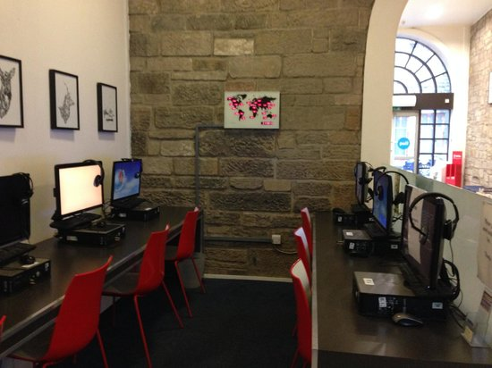 Safestay Edinburgh : internet point