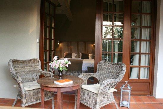 Champagnac de Belair, Frankrike: Junior suite avec terrasse