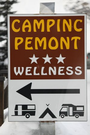 Camping Pemont: insegna