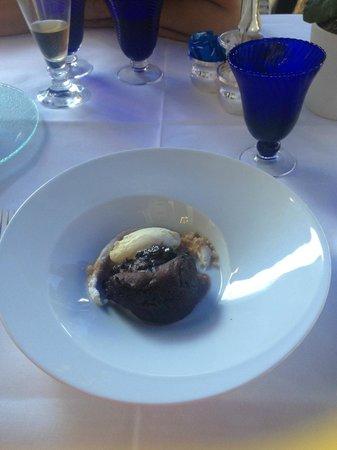 Goya Restaurant : Шоколадный Фондан