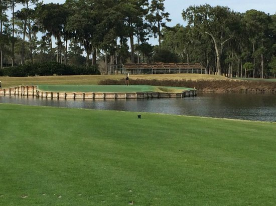 TPC at Sawgrass Stadium Course : The 17th green