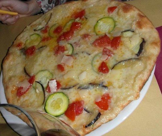 Souvent Pizza bianca con verdure grigliate e pomodorini - Foto di Borgo la  DG18