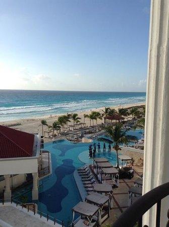 Hyatt Zilara Cancun : view from our balcony