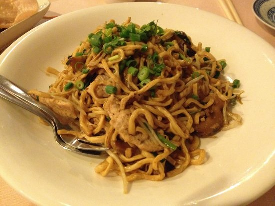 Istana Restaurant: Braised chinese long life noodles