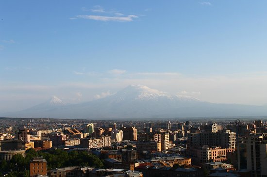 Yerevan Cascade: Панорама Еревана
