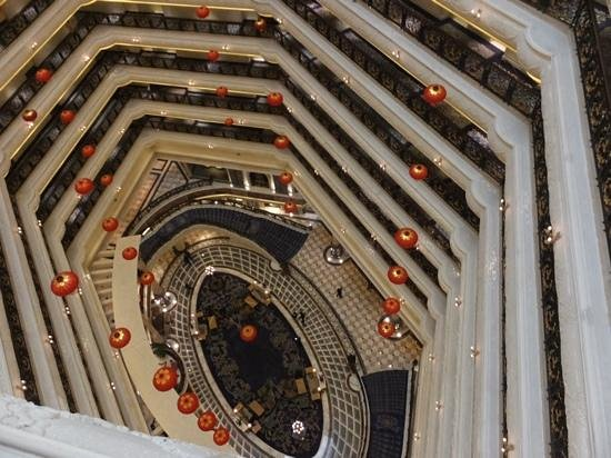 Legendale Hotel Beijing : lobby from above