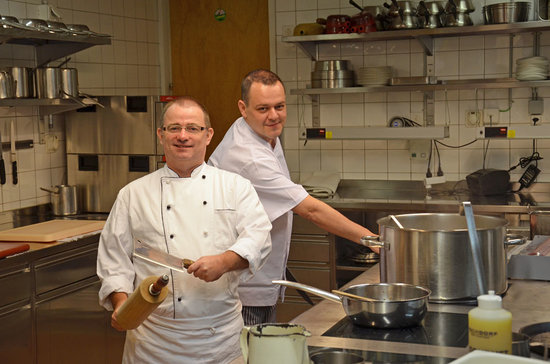 Hotel Eiger Restaurant: Head-Chef and Sous-Chef