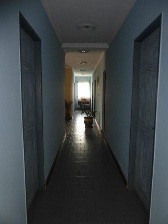 Hosteria Okapi: Los pasillos bien decorados