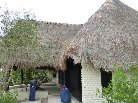 Hotel Xixim: our bungalow