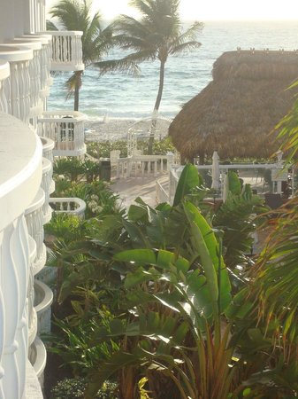 Beachcomber Resort and Villas: View from the balcony