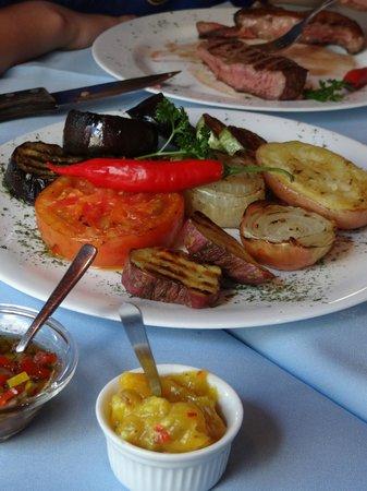 Libertango´s Restaurant: Parrillada de legumes