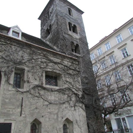 Ruprechtskirche: Building of the church