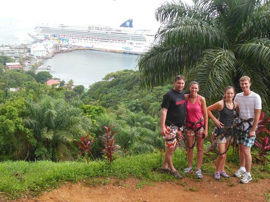 Jungle Top Zipline Adventure: One of the awesome views!