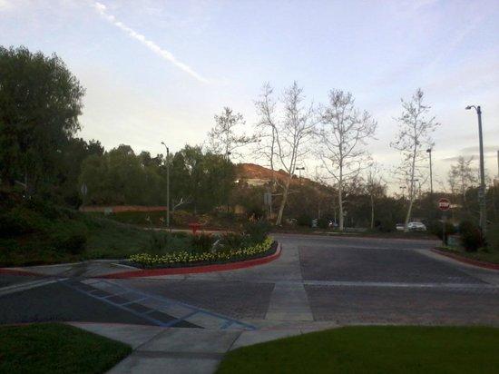 Hilton Garden Inn Calabasas : View from Hotel front