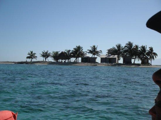 Palma Real Beach Resort & Villas: Île faisant partie de l'archipel de Cayo Cochinos