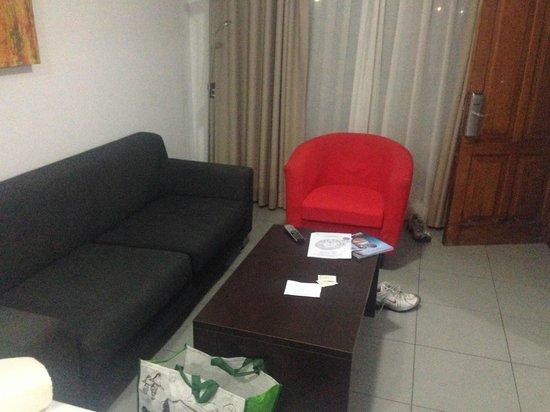 eó Suite Hotel Jardin Dorado: Lounge area