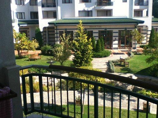 Emerald Beach Resort & Spa: вид из окна частных апартаментов