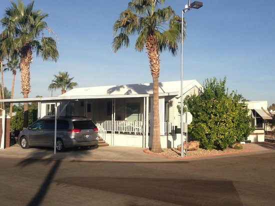 Desert Shadows RV Resort: park models available