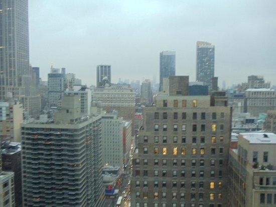 Residence Inn New York Manhattan/Times Square : Vista do quarto